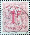 Stamps Belgium -  Intercambio 0,20 usd 1 fr. 1951