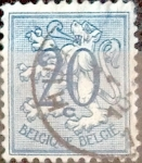 Stamps : Europe : Belgium :  Intercambio nfyb2 0,20 usd 20 cents. 1951
