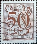 Sellos del Mundo : Europa : Bélgica : Intercambio 0,20 usd 50 cents. 1980