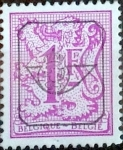 Stamps : Europe : Belgium :  Intercambio 0,20 usd 1 fr. 1977