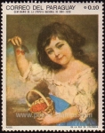 Stamps of the world : Paraguay :  Niña con cerezas