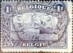sellos de Europa - Bélgica -  Intercambio 1,00 usd 1 fr. 1915