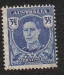 Sellos de Oceania - Australia -  King George VI (1895-1952)