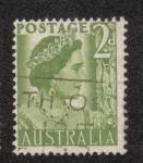 Sellos de Oceania - Australia -  Queen Elizabeth