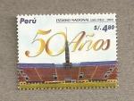 Sellos de America - Perú -  50 Años Estadio Nacional