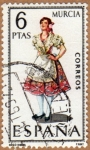 Stamps Europe - Spain -  TRAJE REGIONAL FEMENINO – MURCIA