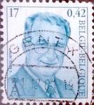 Stamps Belgium -  Intercambio 0,25 usd 17,00 fr. 1999
