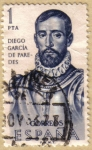 Stamps Spain -  Diego Garcia de Paredes