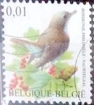 Sellos de Europa - Bélgica -  Intercambio 0,20 usd 1 cent. 2003