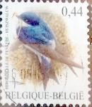Stamps Belgium -  Intercambio 0,25 usd 44 cent. 2003