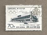 Stamps North Korea -  Juegos Olímpicos