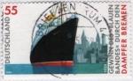Sellos de Europa - Alemania -  Dampfer Bremen