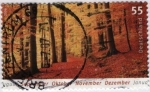 Sellos del Mundo : Europa : Alemania :  Bosque otoñal