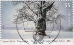 Sellos del Mundo : Europa : Alemania : Arbol nevado