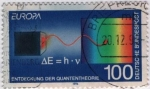 Sellos del Mundo : Europa : Alemania : Quantentheorie