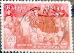 Sellos de Europa - Bélgica -  Intercambio 0,20 usd 20 cents. 1955