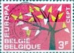 Sellos de Europa - Bélgica -  Intercambio 0,20 usd 3,00 fr. 1962