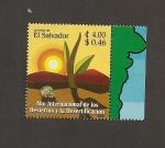 Stamps El Salvador -  Año internacional de los Desiertos
