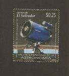 Stamps El Salvador -  Año internacional de la Astronomía