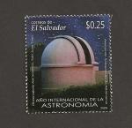 Sellos de America - El Salvador -  Año internacional de la Astronomía