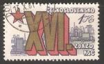 Sellos de Africa - Checoslovaquia -  Congreso Nacional del Partido Comunista
