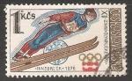 Sellos de Europa - Checoslovaquia -  Juegos Olímpicos de Innsbruck 1976