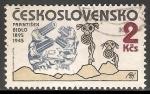 Sellos de Europa - Checoslovaquia -  František Bidlo