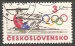 Stamps Czechoslovakia -  Juegos olimpicos 1984 Remo