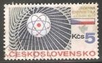 Sellos de Europa - Checoslovaquia -  Energía nuclear