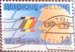Sellos del Mundo : Europa : Bélgica :  Intercambio 0,60 usd 14,00 fr. 1992