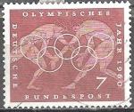 sellos de Europa - Alemania -  Juegos Olímpicos de Verano 1960, Roma.