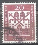 Sellos de Europa - Alemania -  Nacimiento Milenario de Obispos St. Bernward y San Gotardo.