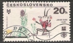 Stamps Czechoslovakia -  János Kass