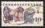 Sellos de Europa - Checoslovaquia -  Viera Bombová