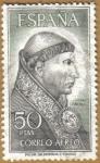 Stamps Spain -  Cardenal Cisneros