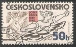 Sellos de Europa - Checoslovaquia -  Josef Čapek