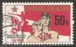 Sellos de Europa - Checoslovaquia -  65 aniversario de la revolución del octubre rojo