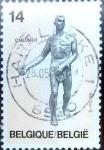 Stamps Belgium -  Intercambio 0,60 usd 14,00 fr. 1991