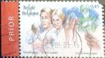 Stamps : Europe : Belgium :  Intercambio hb1r 0,80 usd 49 cents. 2003