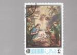 sellos de Asia - Emiratos Árabes Unidos -  navidad