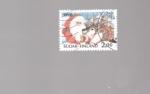 sellos de Europa - Finlandia -  navidad
