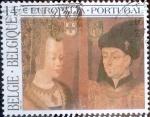 Stamps Belgium -  Intercambio 0,65 usd 14,00 fr. 1991