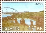 Stamps : Europe : Iceland :  Intercambio jxa 0,35 usd 4,00 kr. 1966