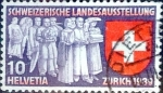 Sellos del Mundo : Europa : Suiza : Intercambio 0,20 usd 10 cents. 1939