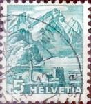 Sellos de Europa - Suiza -  Intercambio 0,20 usd 5 cents. 1936