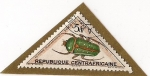 Stamps Africa - Central African Republic -  cetoine escaraboidae