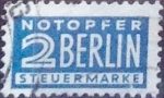 sellos de Europa - Alemania -  Intercambio 0,20 usd 2 pf. 1955