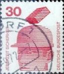Sellos de Europa - Alemania -  Intercambio 0,20 usd 30 pf. 1971