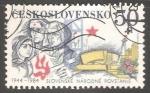 Sellos de Europa - Checoslovaquia -  40 aniversario Insurrección Nacional Eslovaca