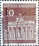 sellos de Europa - Alemania -  Intercambio 0,20 usd 10 pf. 1966